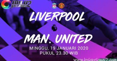Prediksi Super Big Match Liverpool Vs Manchester United