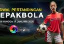 Jadwal Pertandingan Bola 16 Hingga 17 Januari 2020